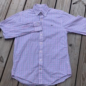 Vineyard Vines Slim Fit Whale Long Sleeve ButtonUp